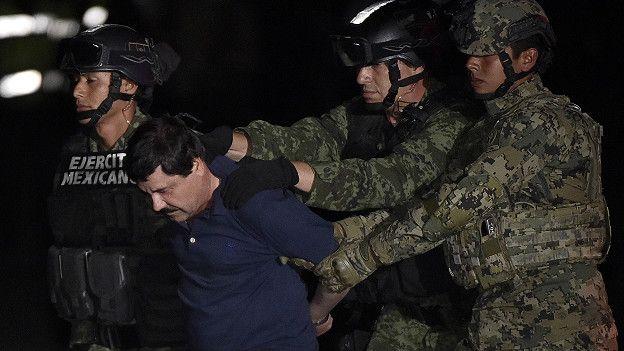 El Chapo Guzmán extraditado