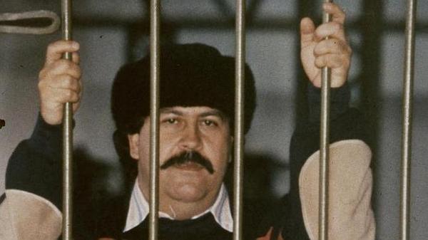 Pablo Escobar en la catedral