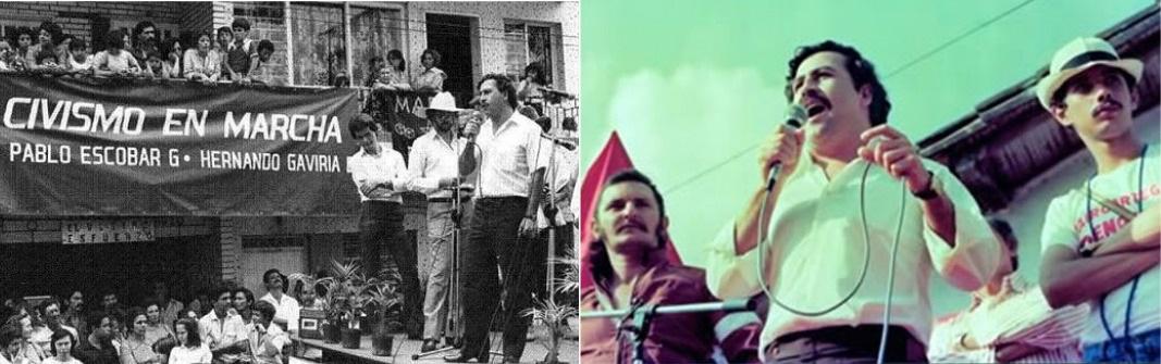 Escobar y la politica