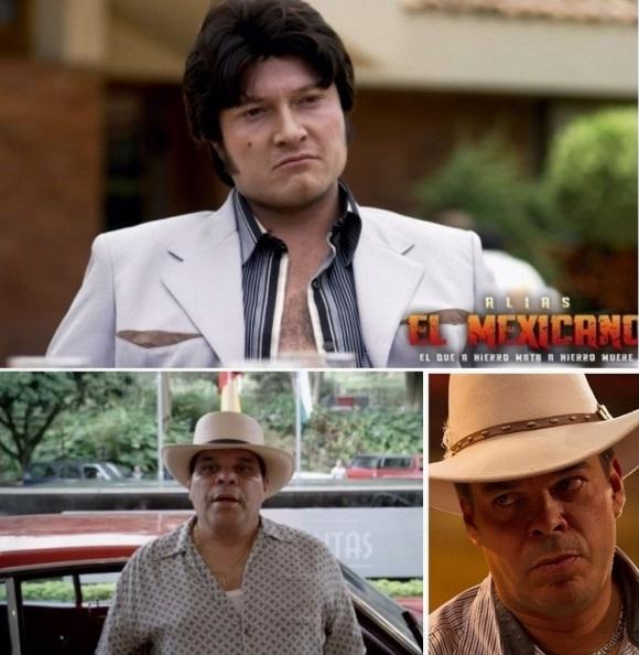 El mexicano serie de television