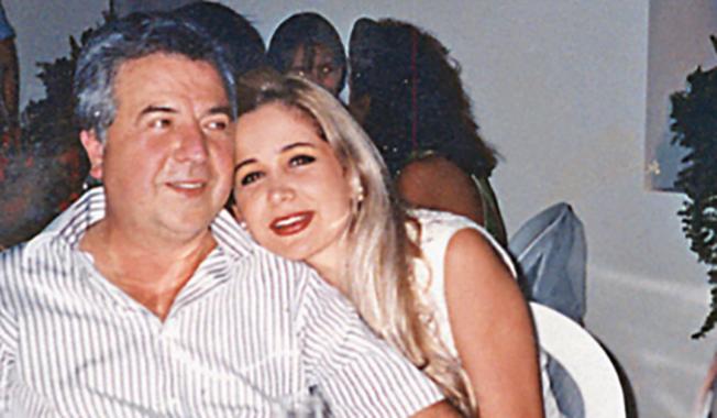 Gilberto Rodriguez con su esposa