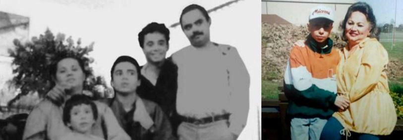 Griselda Blanco y su familia