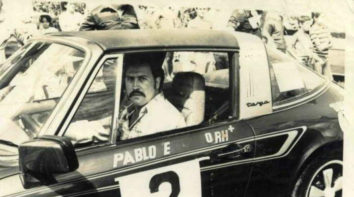 El auto de Escobar