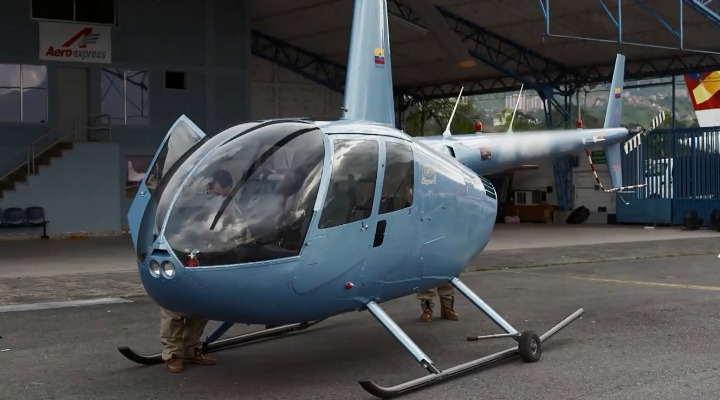 helicóptero de pablo